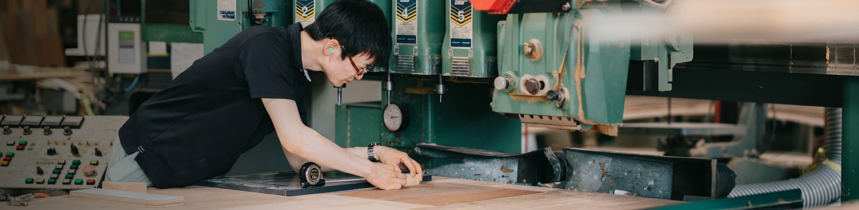 杉山家具製作所の家具づくり